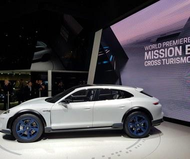 Porsche Mission E Cross Turismo. Super szybko... się ładuje