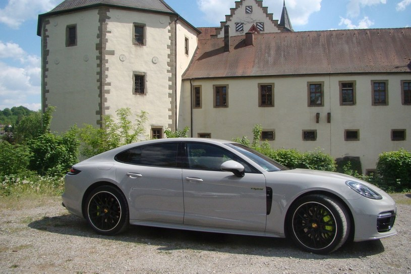 Porsche Panamera 4 E-Hybrid /INTERIA.PL