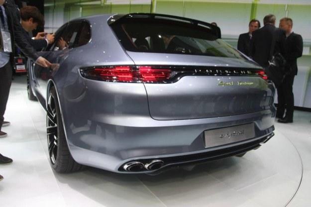Porsche panamera sport tourismo w Paryżu /INTERIA.PL