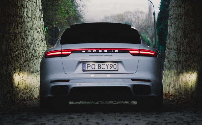 Porsche Panamera Turbo Sport Turismo /INTERIA.PL