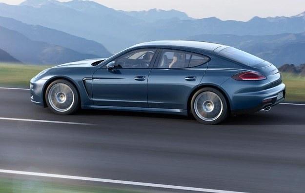 Porsche Panamera z nowym silnikiem /