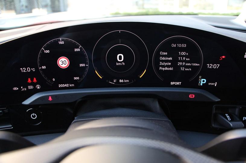 Porsche Taycan 4S /INTERIA.PL