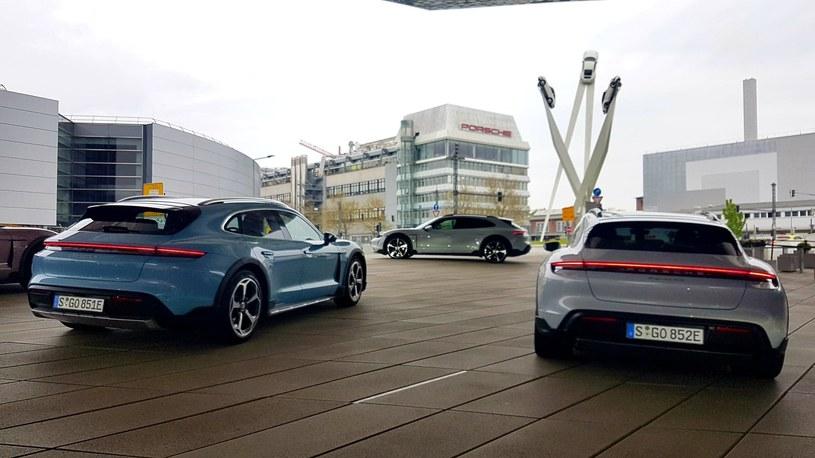 Porsche Taycan Cross Turismo /INTERIA.PL