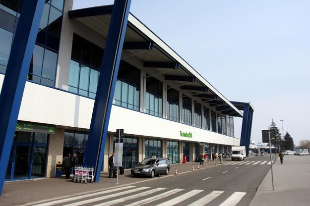 Port lotnicy Katowice-Pyrzowice. Fot. Michał Szalast /Agencja SE/East News