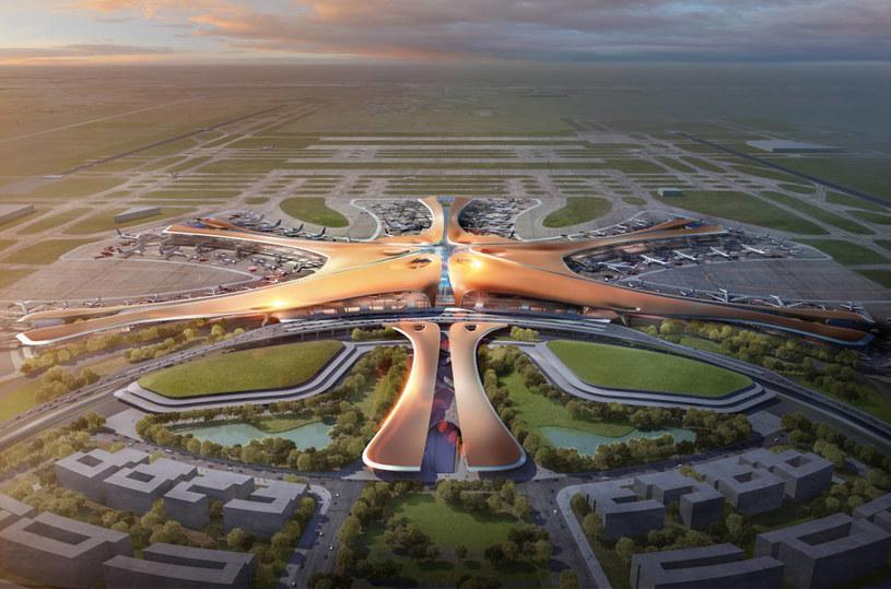 Port lotniczy Daxing w Pekinie /materiały prasowe