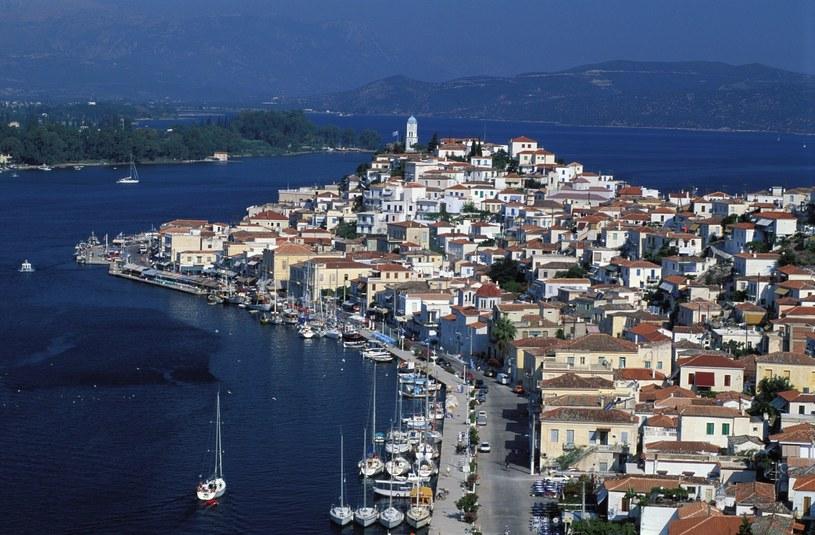 Port Poros leży około 60 kilometrów na południe od Aten /PATRICK FRILET  /East News