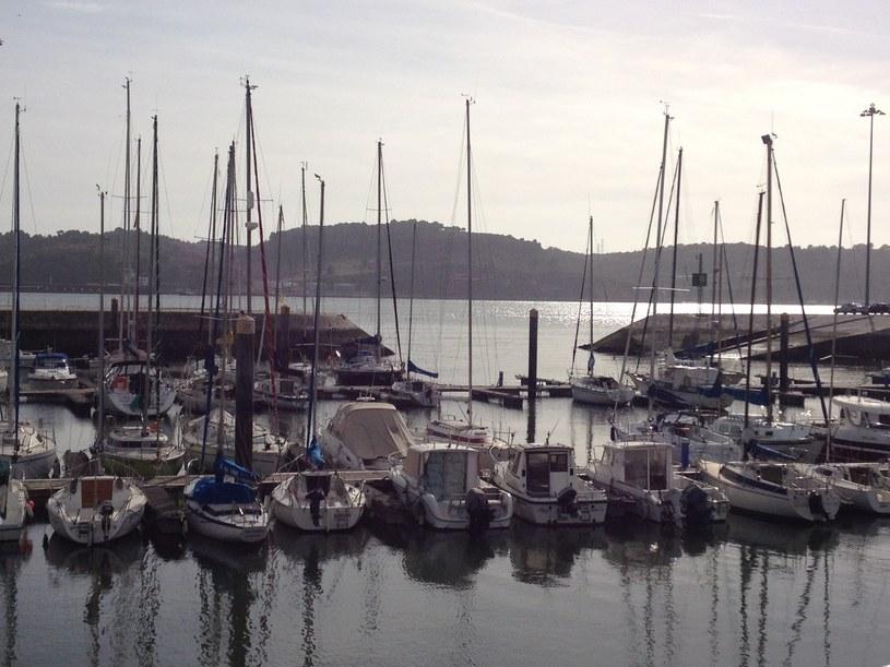 Port w dzielnicy Belém /Justyna Tomaszewska /INTERIA.PL