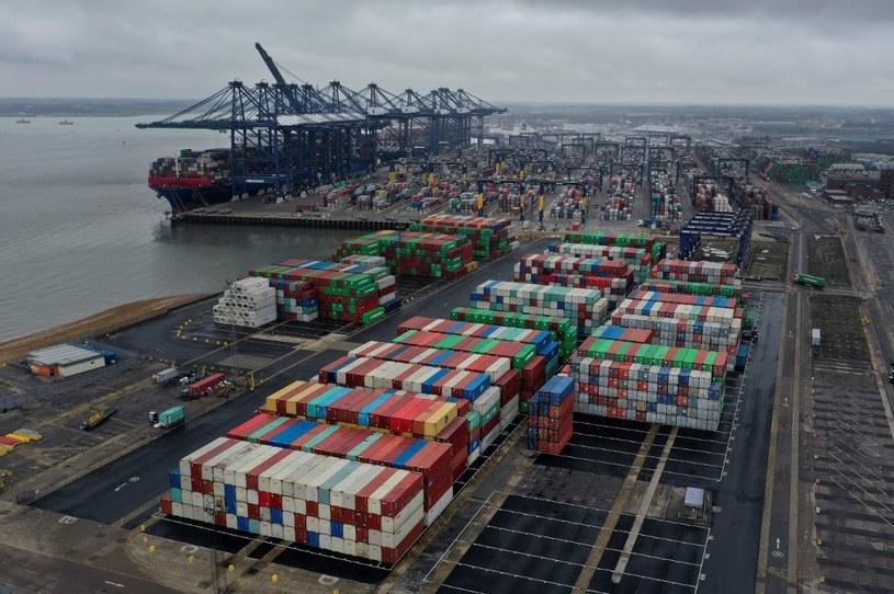 Port w Felixstowe /BEN STANSALL / AFP /AFP
