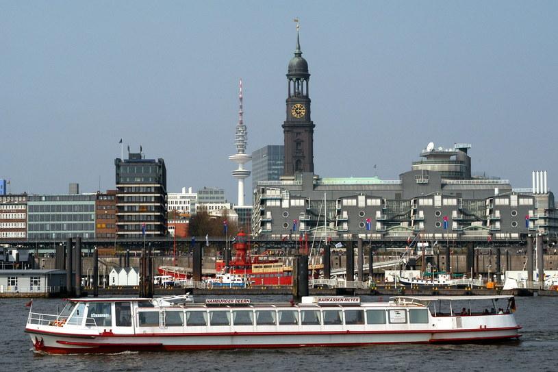 Port w Hamburgu /Krzysztof Wójcik /Agencja FORUM