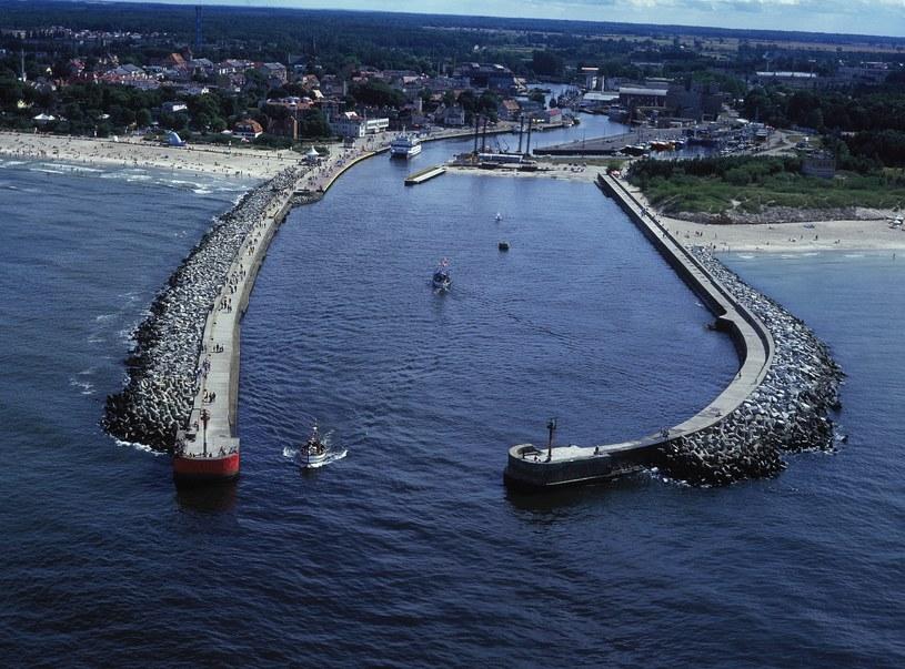 Port w Ustce z lotu ptaka, fot. archiwum Urzędu Miasta w Ustce /materiały prasowe