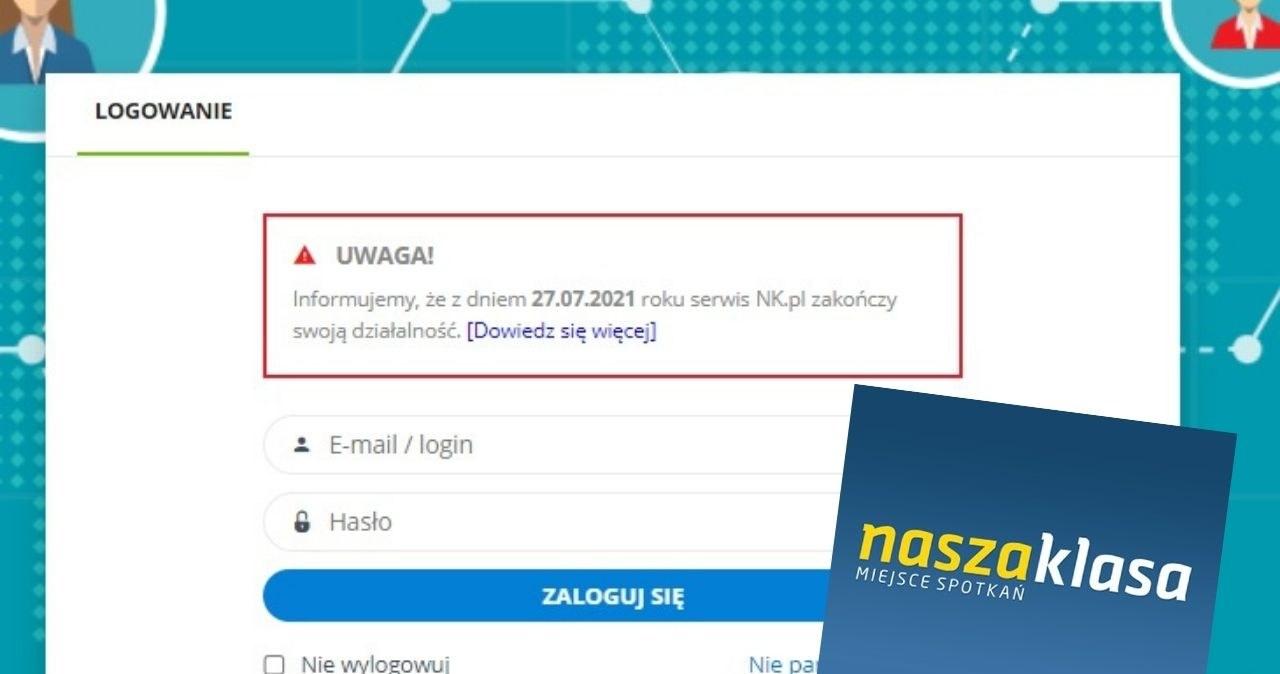 Portal NaszaKlasa.pl wkrótce zostanie zamknięty