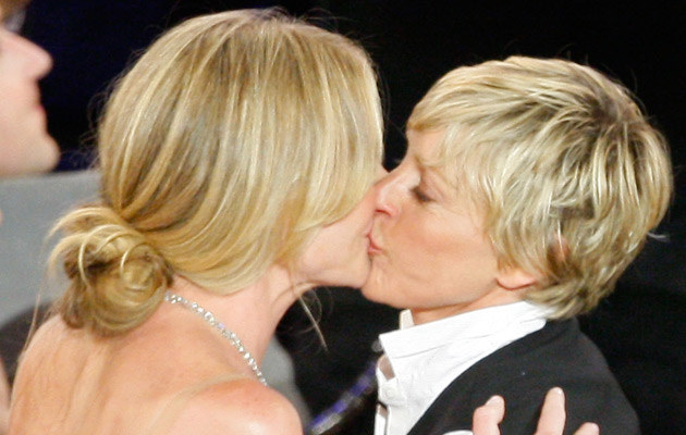 Portia de Rossi i Ellen DeGeneres, fot. Vince Bucci   /Getty Images/Flash Press Media