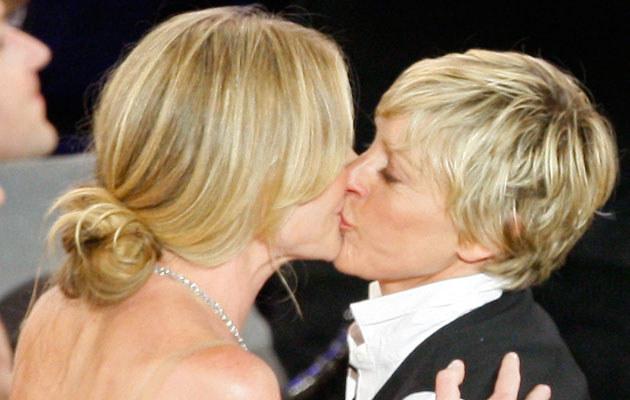 Portia de Rossi i Ellen DeGeneres, fot. Vince Bucci  /Getty Images/Flash Press Media