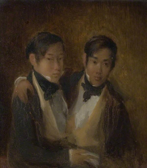 Portret braci z 1846 roku /Wikimedia Commons /domena publiczna