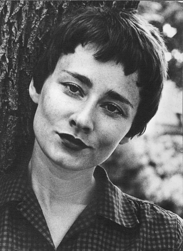 Portret Haliny Poświatowskiej z 1961, New Hampstead. /Muzeum Literatury /East News