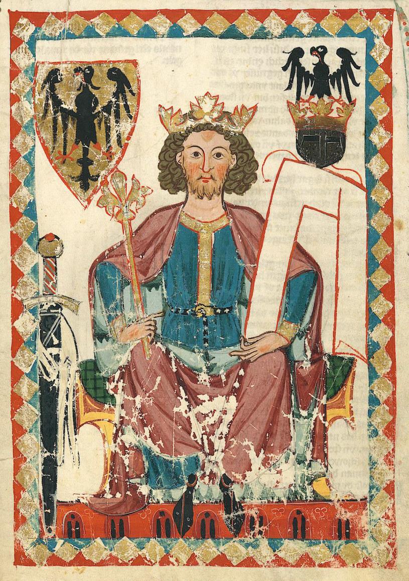 Portret Henryka III w Codex Manesse /domena publiczna