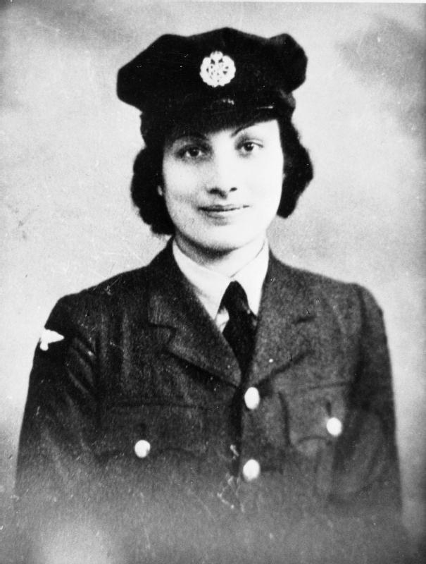 Portret Noor Inayat Khan /fot. iwm.org.uk /Domena publiczna /Wikimedia