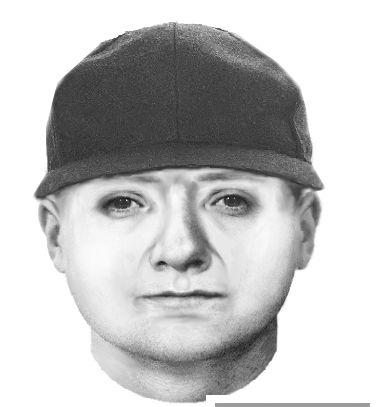 Portret pamięciowy jednego z oszustów /Śląska policja /
