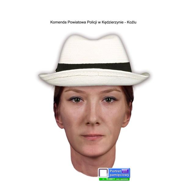 Portret pamięciowy podejrzanej /Opolska Policja /Policja