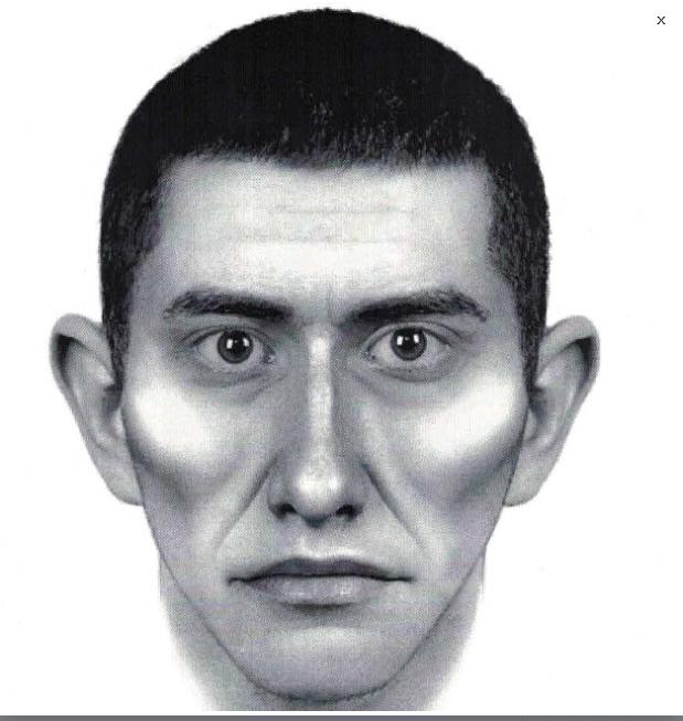 Portret pamięciowy poszukiwanego mężczyzny /http://zoliborz.policja.waw.pl /