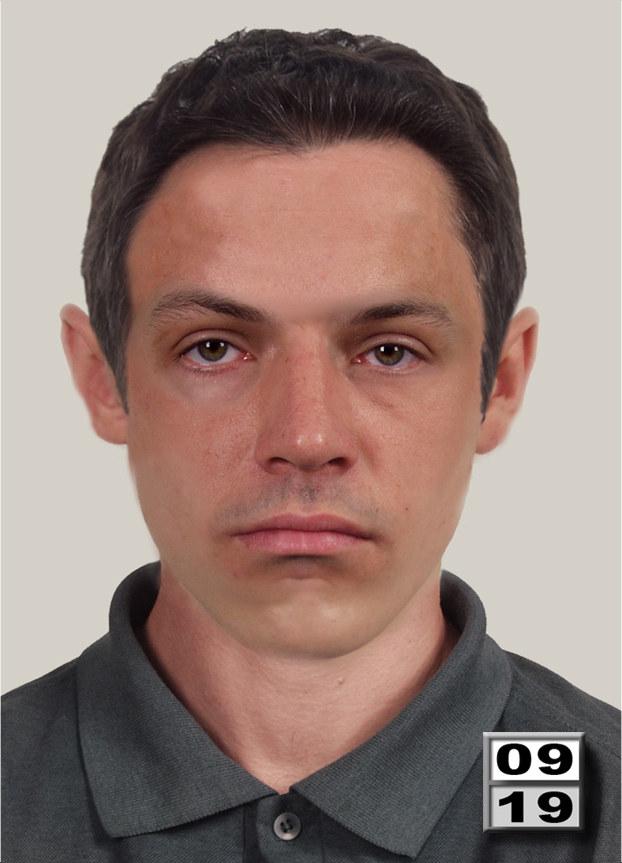 Portret pamięciowy poszukiwanego mężczyzny /KWP Rzeszów /