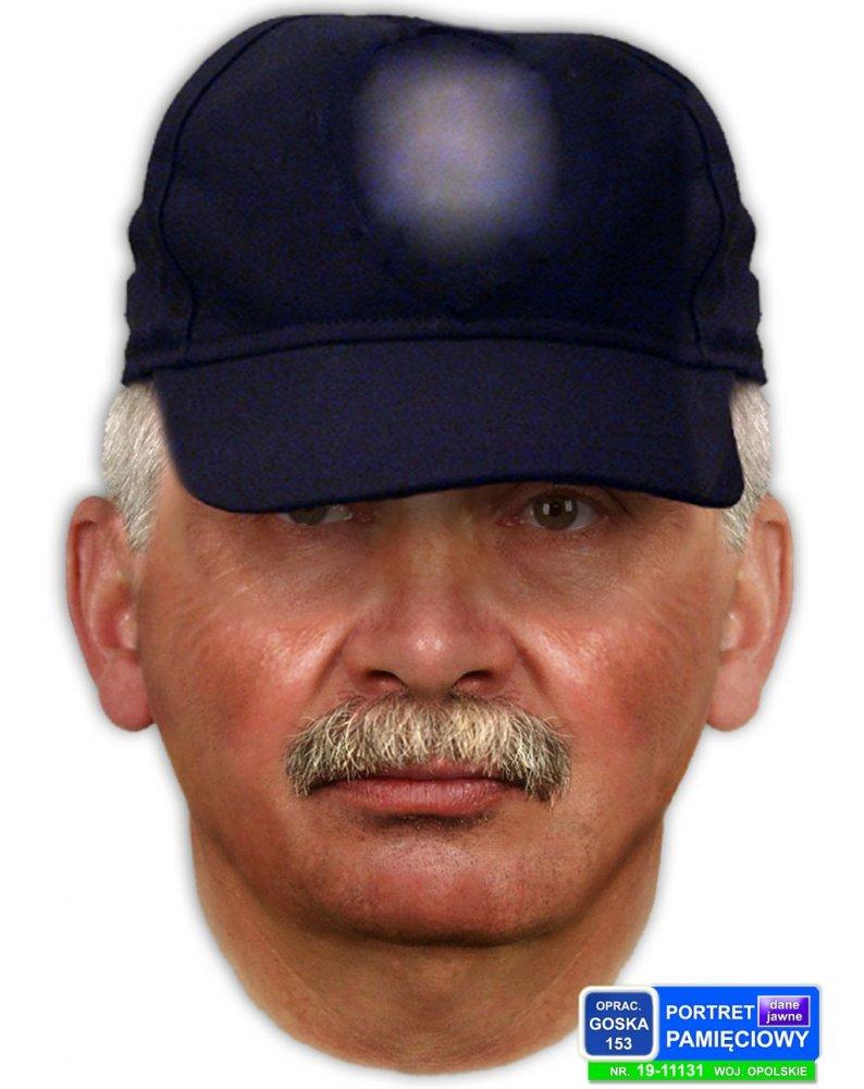 Portret pamięciowy poszukiwanego mężczyzny /policja.pl /