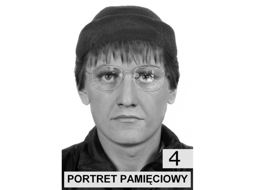 Portret pamięciowy poszukiwanego /Policja