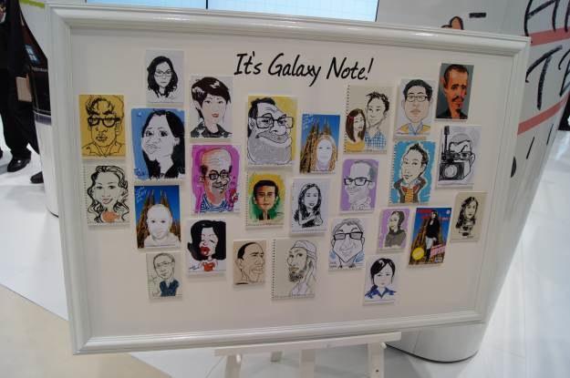 Portrety stworzone przy pomocy Galaxy Note robią wrażenie /INTERIA.PL