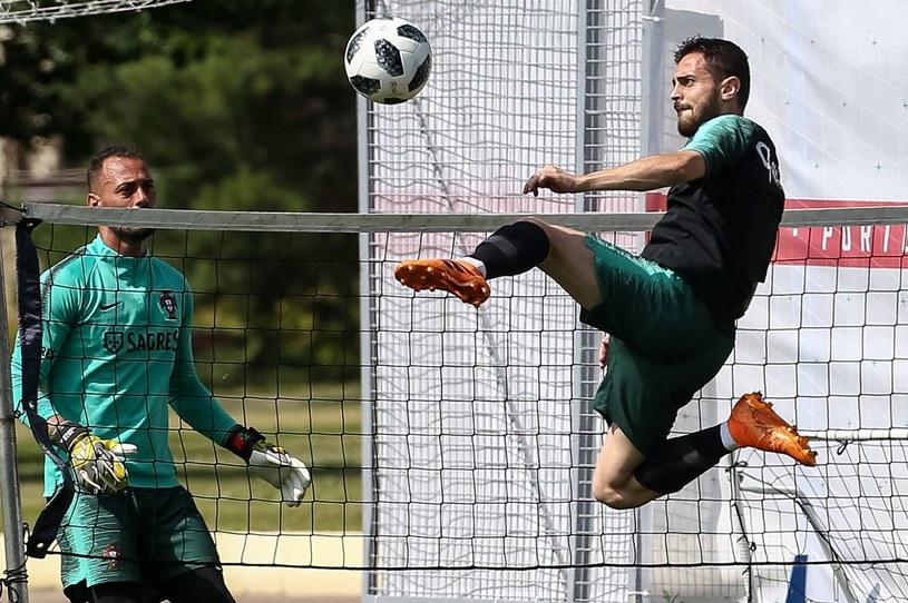Portugalczyk Bernardo Silva błyszczy, ale tylko na treningach /PAP/EPA