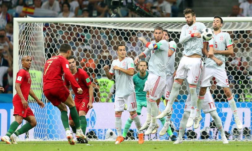 Portugalia Hiszpania   Fatalny Blad Sedziego