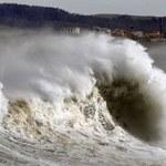 Portugalia: Kilkunastu rannych w rezultacie huraganowych wiatrów