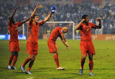 Portugalia pojedzie na mistrzostwa świata /AFP