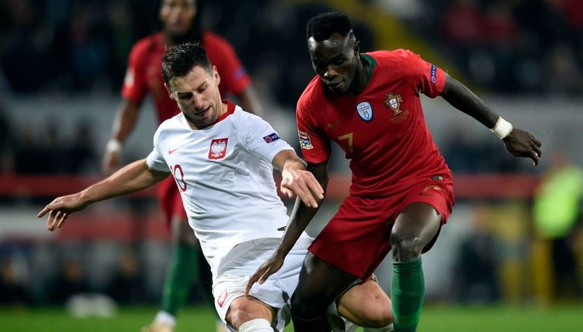 Portugalia - Polska 1-1 w Lidze Narodów. Oceny Polaków