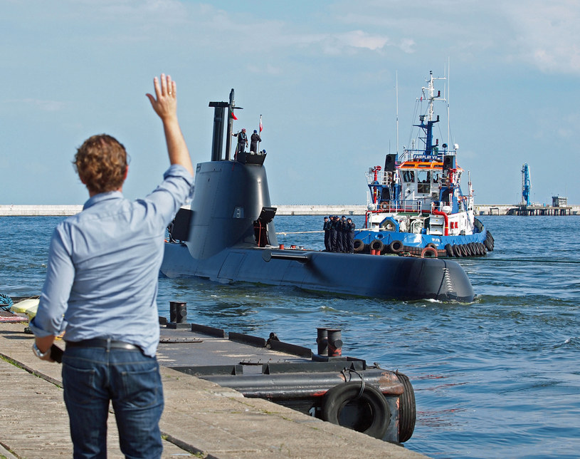Portugalski okręt podwodny NRP Tridente (S-160) /Agencja FORUM