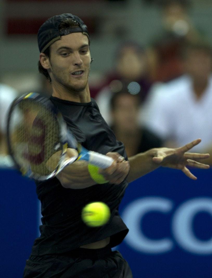 Portugalski tenisista Joao Sousa /AFP