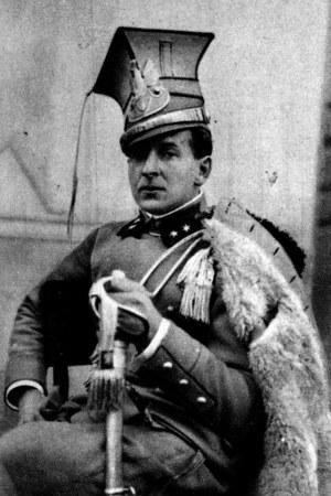 Porucznik Bolesław Wieniawa-Długoszowski, I Brygada Legionów (zdjęcie z 1915 r.) /Piotr Mecik /Agencja FORUM