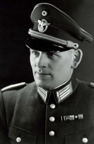 Porucznik Eilert Dieken /Muzeum Polaków Ratujących Żydów podczas II wojny światowej im. Rodziny Ulmów w Markowej /