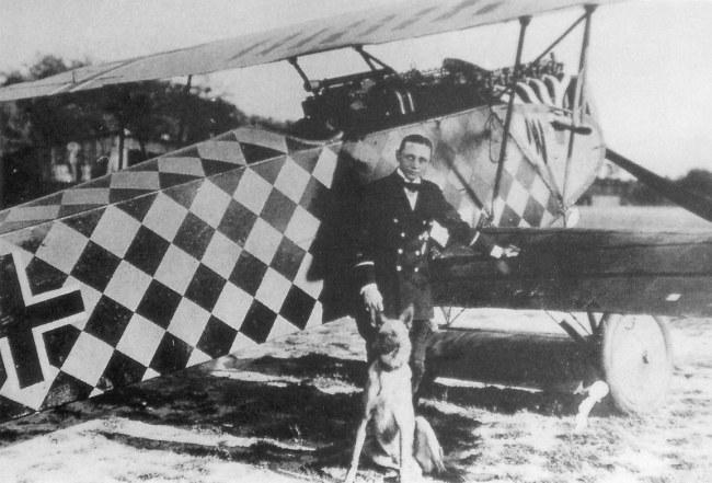 Porucznik Gotthard Sachsenberg w czasie I wojny światowej /Bundesarchiv /materiały prasowe