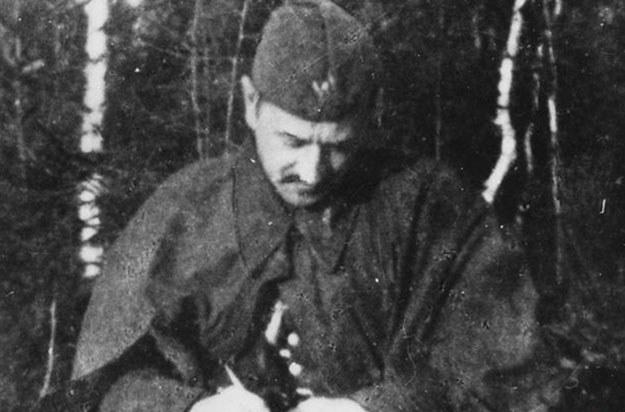 Porucznik Jan Borysewicz pseudonim Krysia /Z archiwum Narodowego Archiwum Cyfrowego