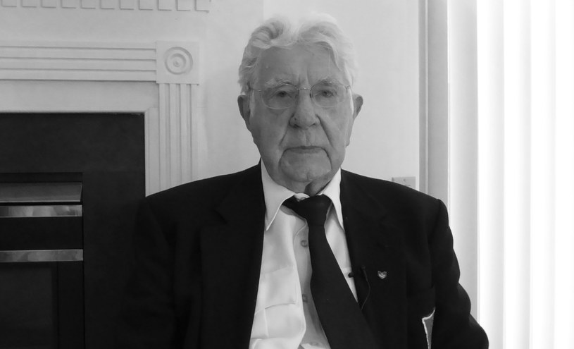 Porucznik Stefan Skielnik zmarł w wieku 95 lat /Muzeum II Wojny Światowej w Gdańsku /Twitter