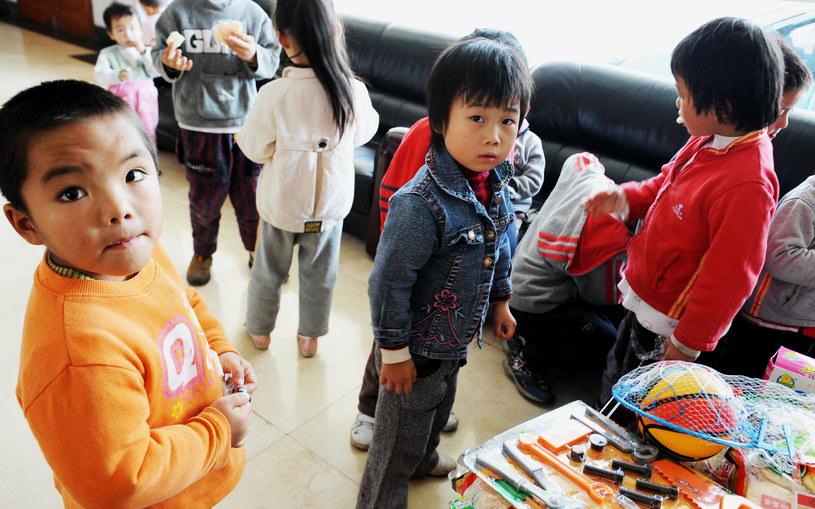 Porwania dzieci są w Chinach zjawiskiem powszechnym /AFP