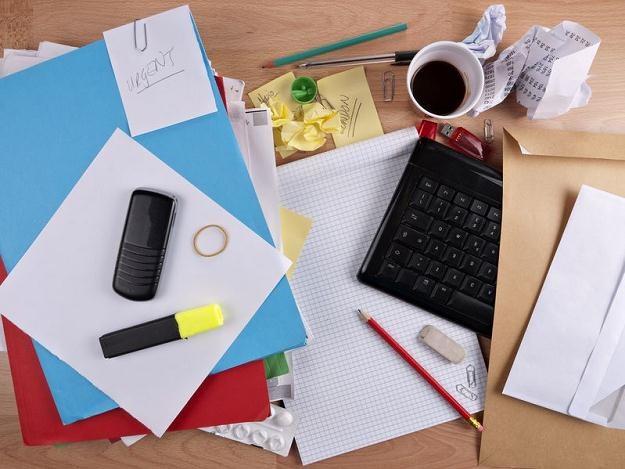 Porządek w biurze wpływa na efektywność naszej pracy /123RF/PICSEL