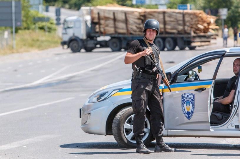 Porządku pilnuje m.in. Gwardia Narodowa /AFP