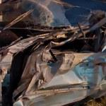 Pościg na Dolnym Śląsku. Auto uderzyło w budynek kościoła
