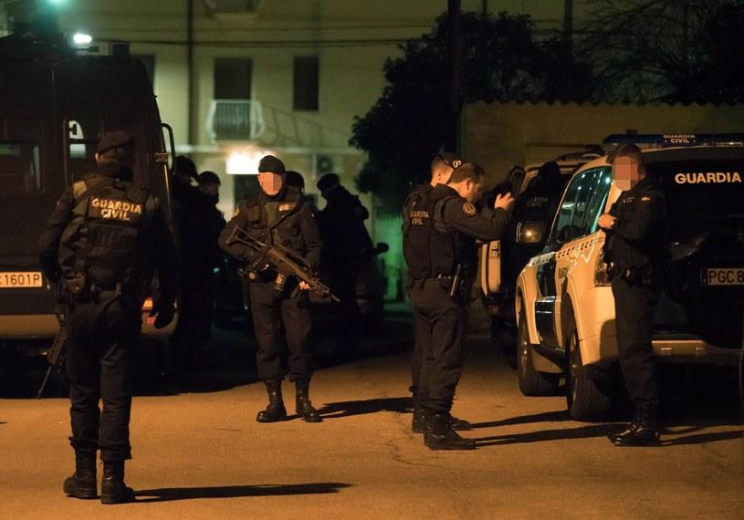 Pościg za mężczyzną trwał od czwartku wieczorem / EPA/ANTONIO GARCIA  /PAP/EPA