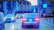 Pościg za złodziejem bez prawa jazdy