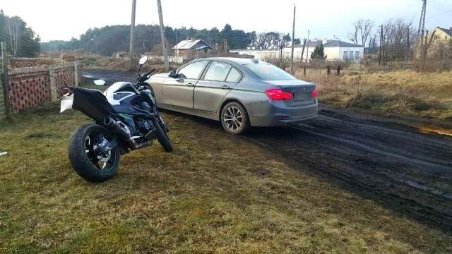 Pościg zakończył się zatrzymaniem motocyklisty /Policja