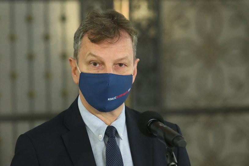 Poseł Andrzej Halicki /Tomasz Jastrzebowski/REPORTER /Reporter