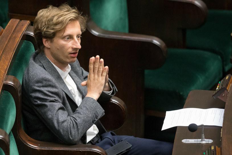 Poseł Franciszek Sterczewski /Tomasz Jastrzebowski/REPORTER /East News