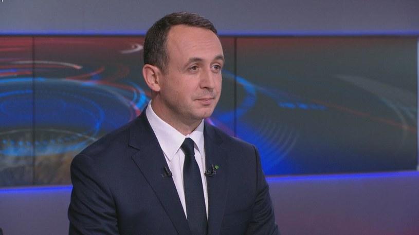 Poseł i wiceprezes PSL Dariusz Klimczak /Polsat News